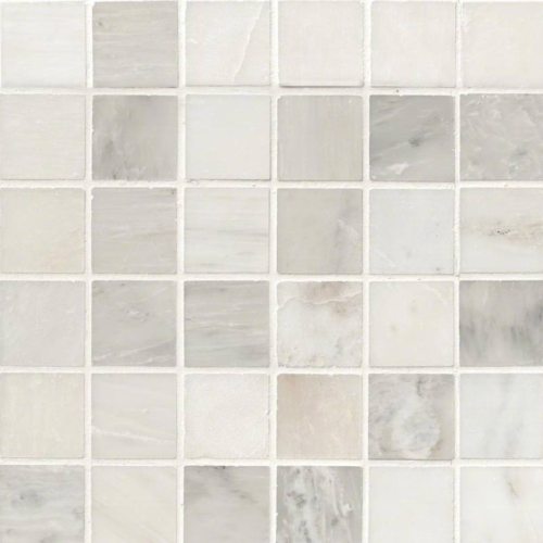 Hampton Carrara Marble Polished Mosaic Tile