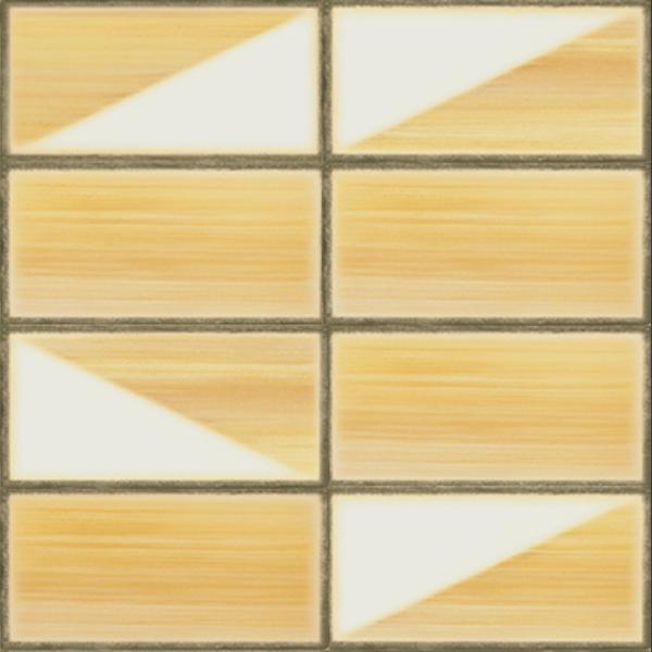 Iris LOL Yellow Decorative Wall Tile