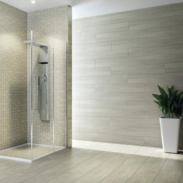 IRF Shen Greylake Porcelain Tile Bathroom Application