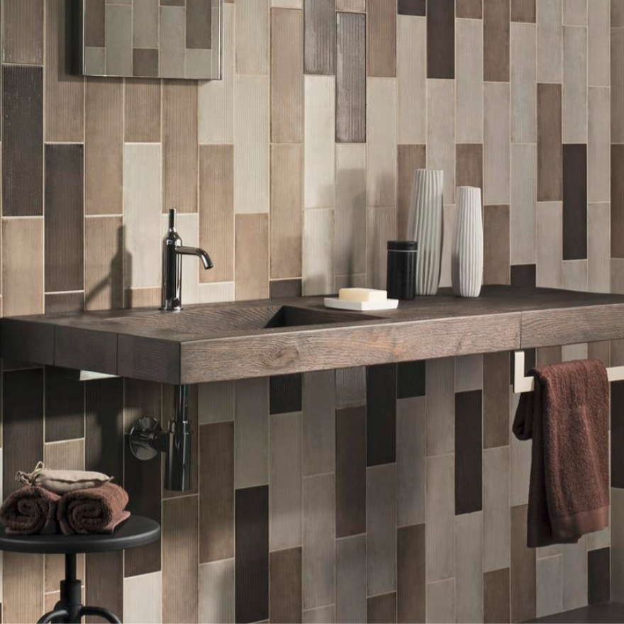 Iris Desire Brown & Deco Wall Tiles