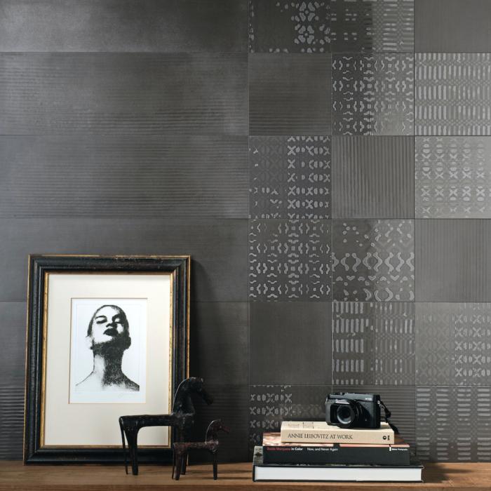 Iris Desire Dark Wall Tile Ambiance
