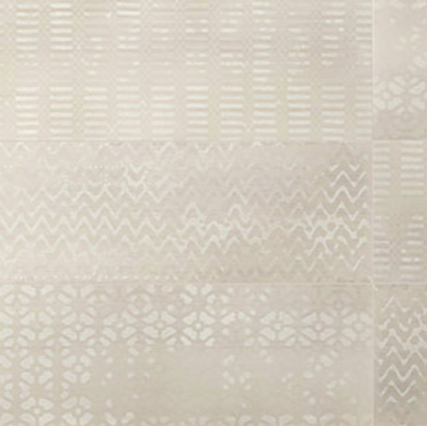Iris Desire Deco Beige Glossy Wall Tile 8x24