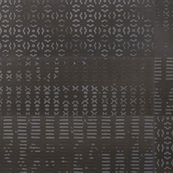 Iris Desire Deco Dark Glossy Wall Tile 8x24
