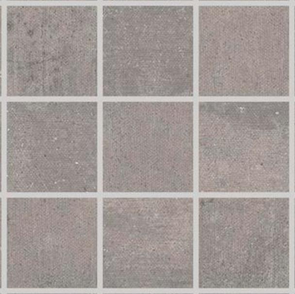 Iris Desire Mosaic 2x2 Grey Tile
