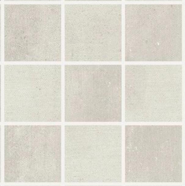 Iris Desire Mosaic 2x2 white Tile