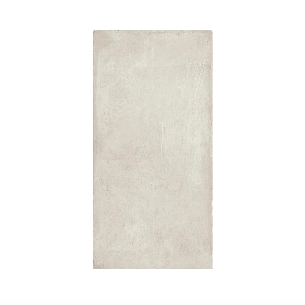 Iris Desire White Rectangular Floor Tile