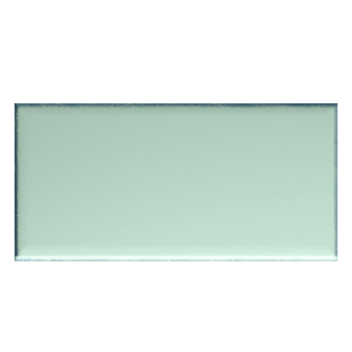 Iris LOL Aquamarine Ceramic Glossy Wall Tile 4x8