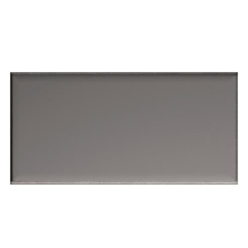 Iris LOL Grey Ceramic Glossy Wall Tile 4x8