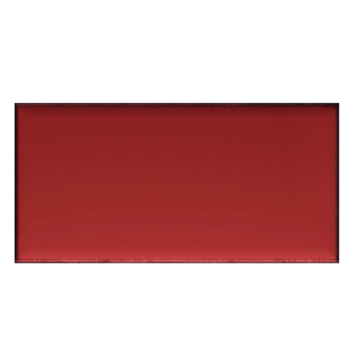 Iris LOL Red Ceramic Glossy Wall Tile 4x8
