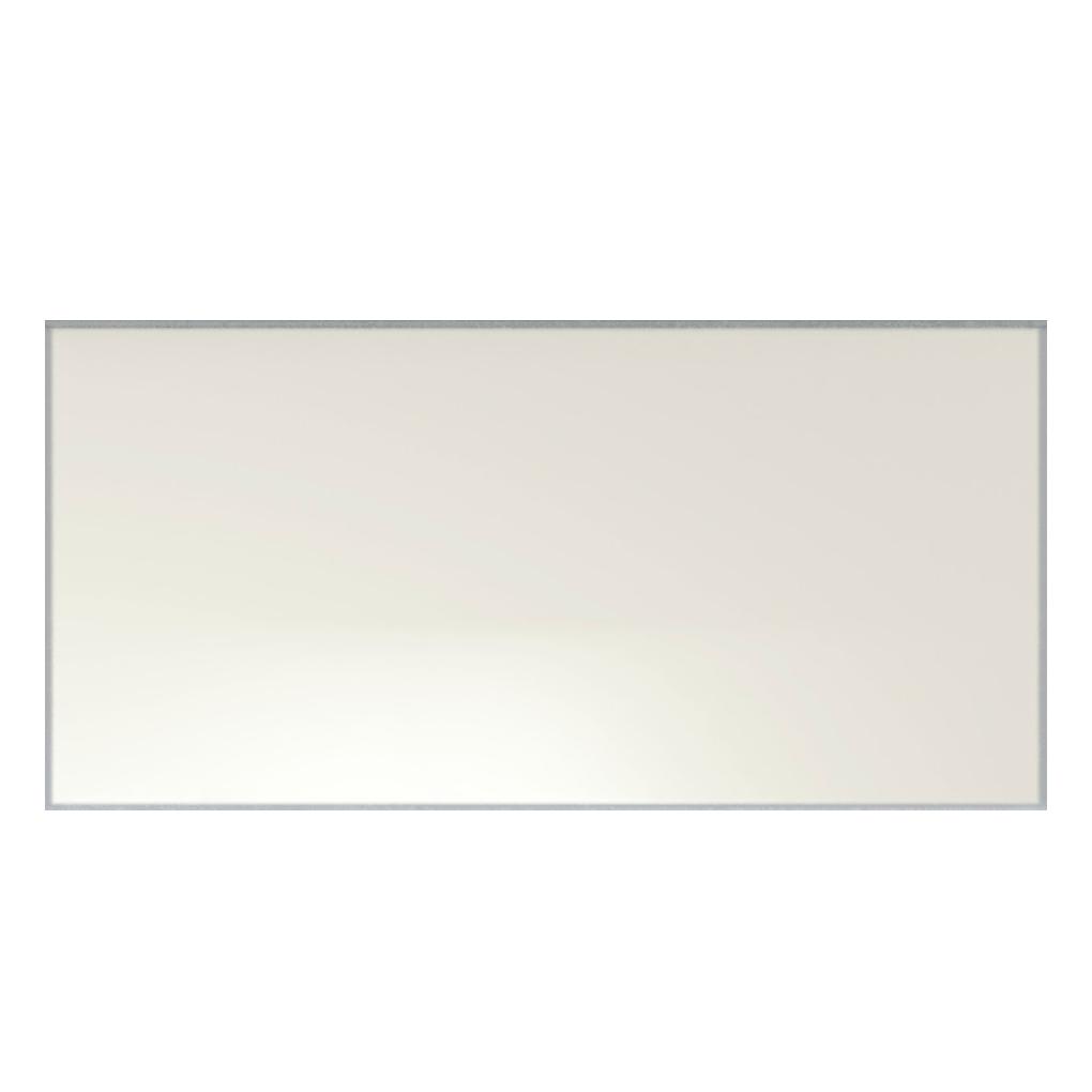 Iris LOL White Ceramic Glossy Wall Tile 4x8