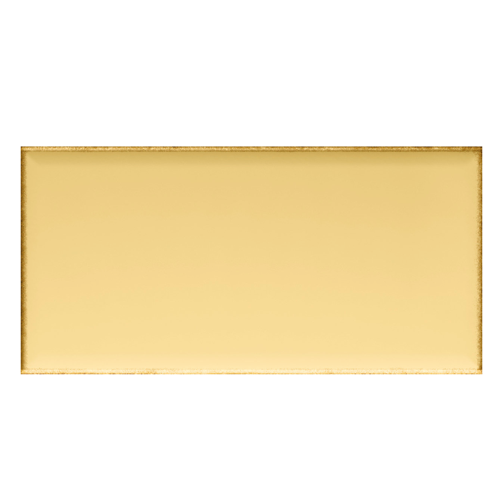Iris LOL Yellow Ceramic Glossy Wall Tile 4x8