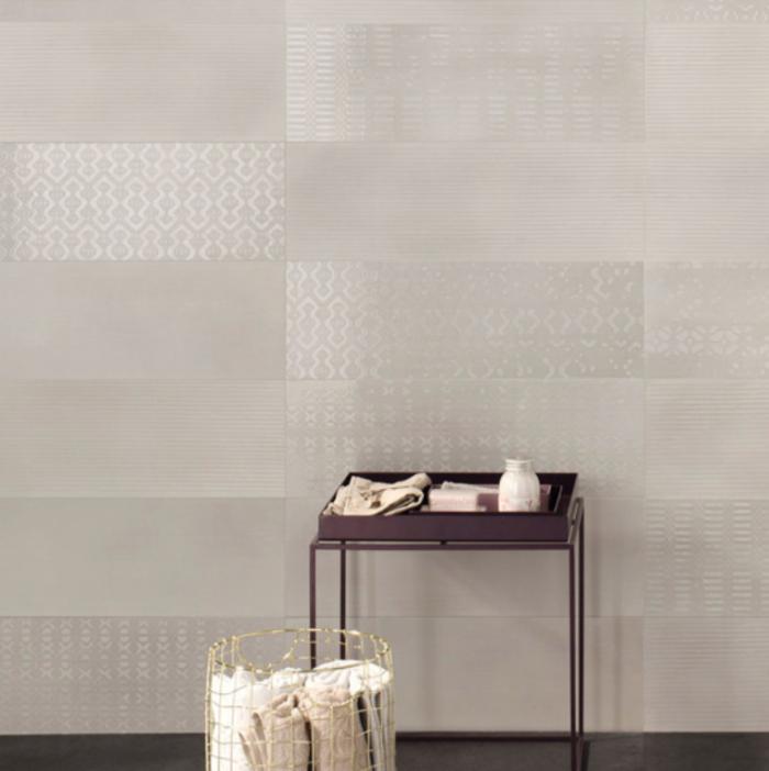 Iris ivory wall tile bath application