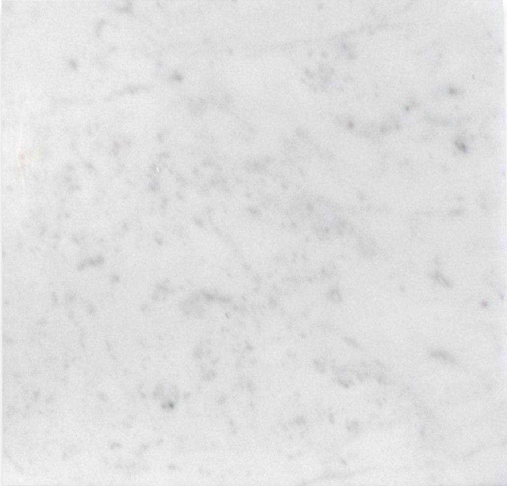Italia F Carrara White Marble Matte Honed Tile