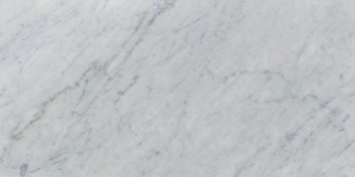 Italia F Carrara White Marble Polished Tile - 12 x 24 in.