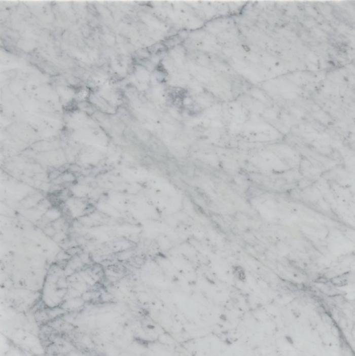 Italia F Carrara White Marble Polished Tile - 24 x 24 in.