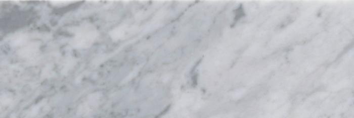 Italia F Carrara White Marble Polished ile 4x12 vary