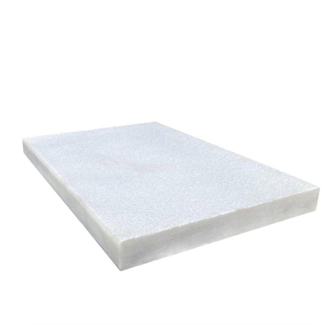 Royal Carrara Marble Paver Sandblasted Coping Micro Beveled 12x24x2