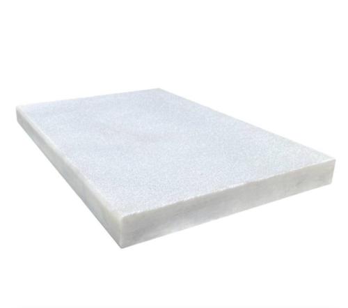 Royal Carrara Marble Paver Sandblasted Coping Micro Beveled 16x24x2