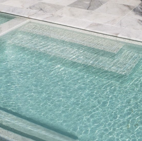 hampton carrara bull nose pool coping