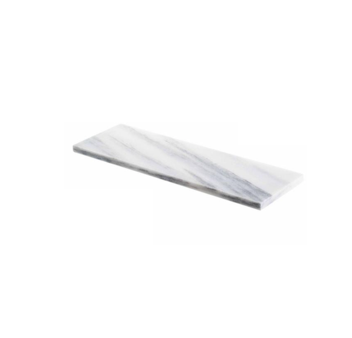 West Hampton Carrara White Marble Matte Honed Tile 4x12 -2