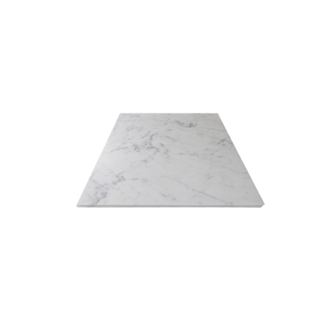 "West Hampton Carrara White Marble Matte Honed Tile 12""X12"""