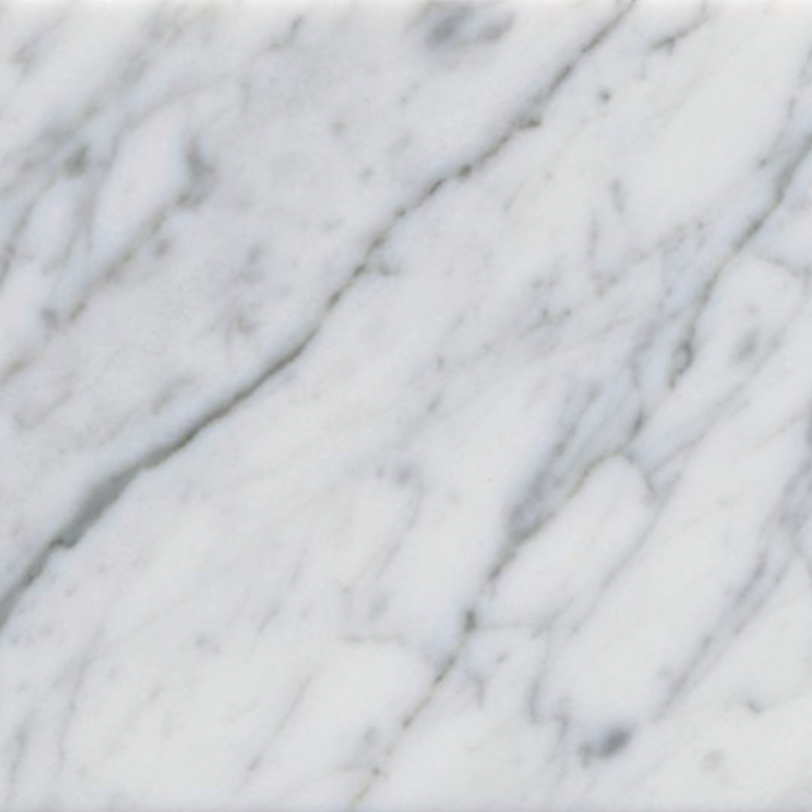 Italia F Carrara White Marble Matte Honed Tile - 4 x 12 in.