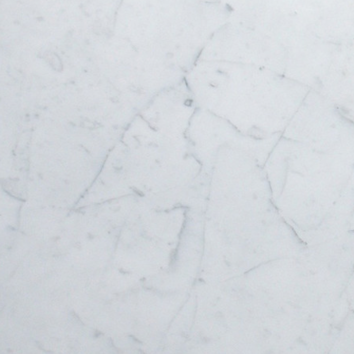 "Italia F Carrara White Marble Matte Honed Tile 6""x24"""