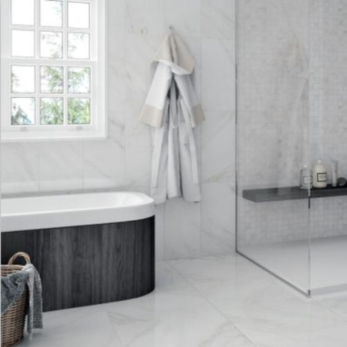 Happy Floors Sublime Collection 24 x 24 Tile Bath
