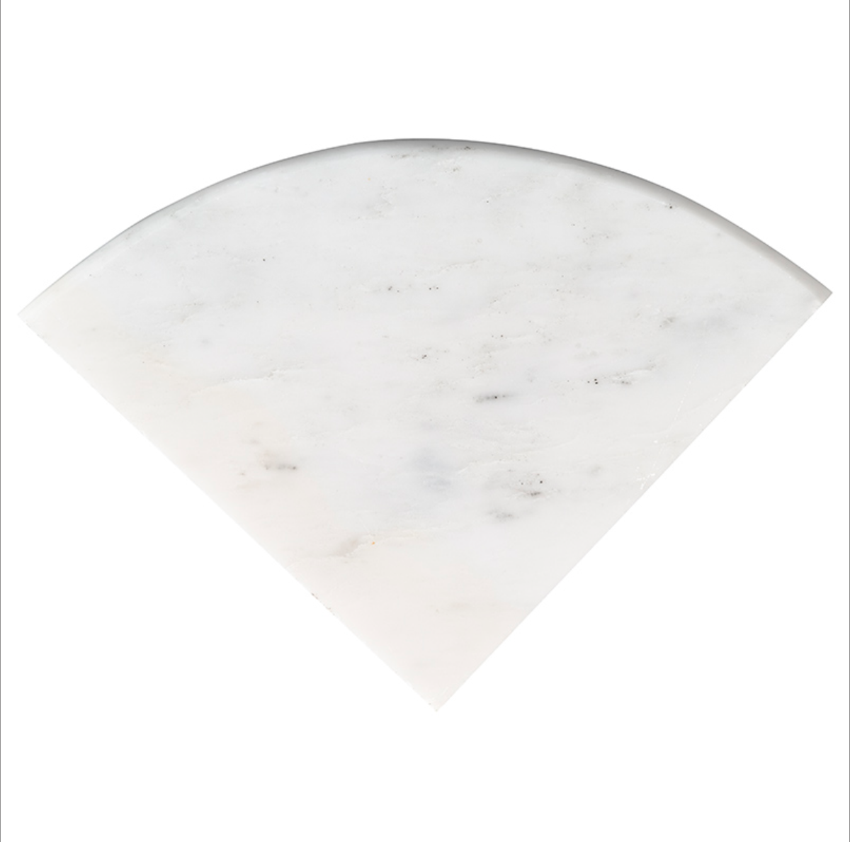 West Hampton Carrara Marble Polished Hand Carved Flat Corner Fixture