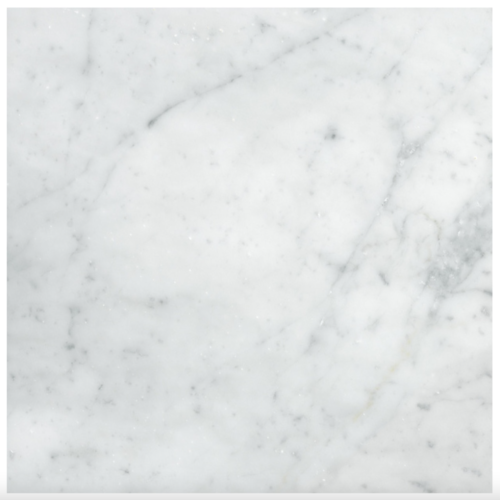 West Hampton Carrara White Marble Matte Honed Tile 12X12