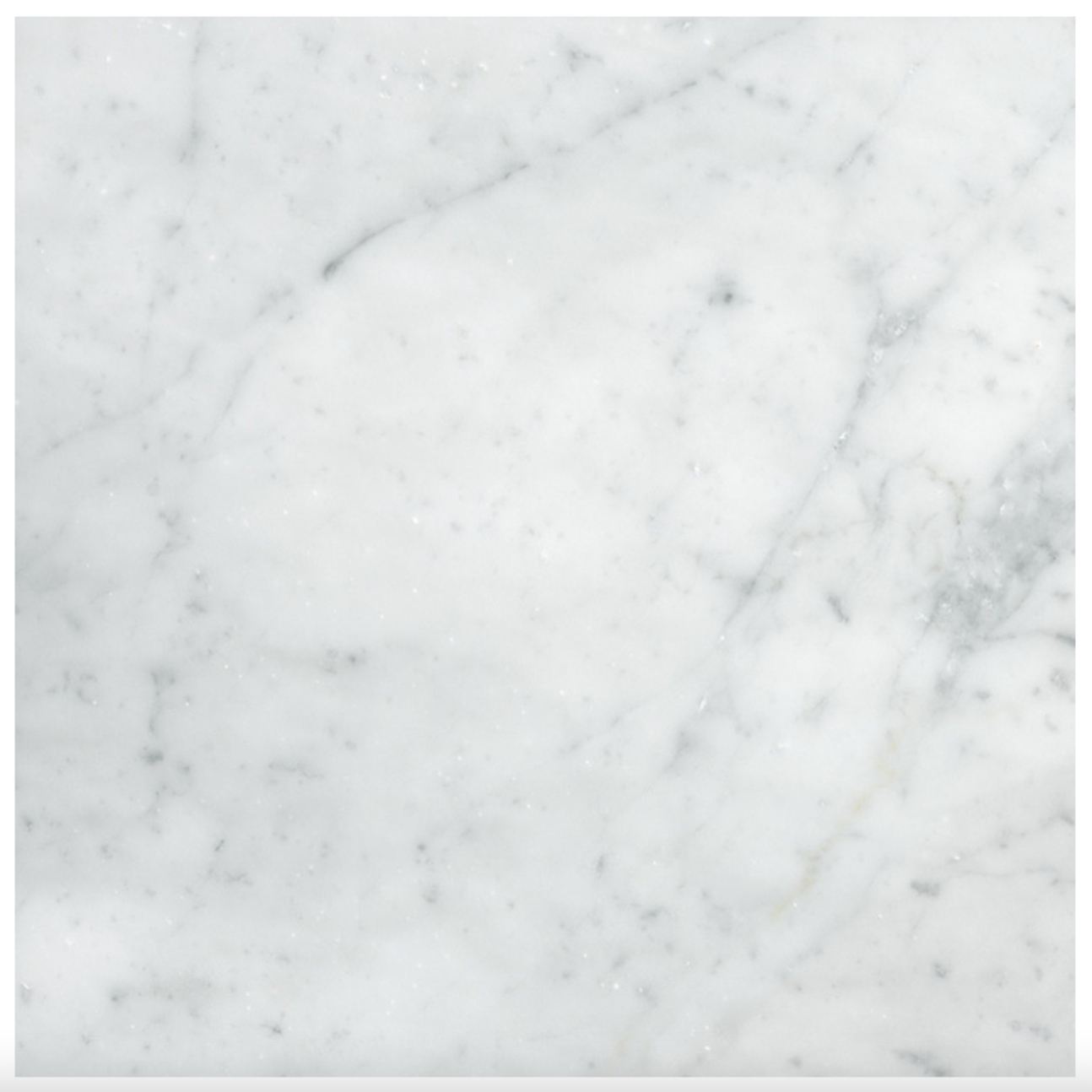 West Hampton Carrara White Marble Matte Honed Tile 12X12