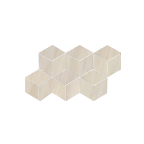 Dolomite Beige 3D Hexagon Polished Mosaic (7x 12.6 Sheet) Wall Use OnlyDolomite Beige 3D Hexagon Polished Mosaic (7x 12.6 Sheet) Wall Use Only