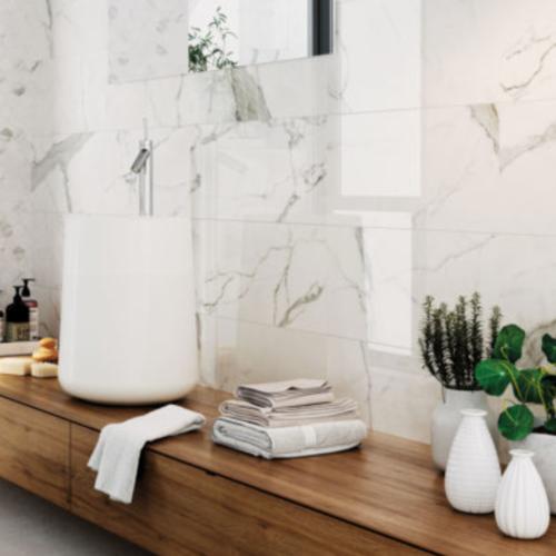 Glossy Statuario Happy Floors Porcelain Tiles -2