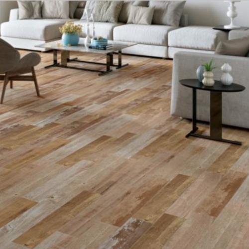 Happy Floors Barnwood Bronze Porcelain Tile