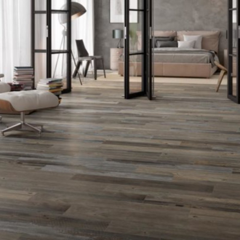 Happy Floors Barnwood Magma Porcelain Tile