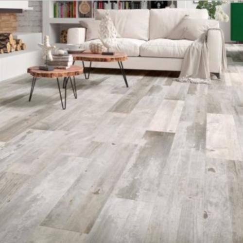 Happy Floors Barnwood Silver Porcelain Tile
