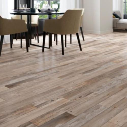 Happy Floors Barnwood Tilden Grey Porcelain Tile