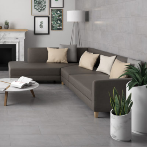 HFCS Iron Porcelain Floor & Wall Tile Collection