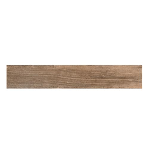 Happy Floors Northwind Brown 6x36 plank porcelain tile