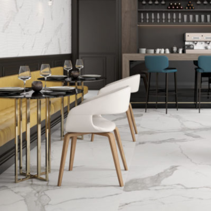 Matte Statuario Happy Floors Porcelain Tiles -2