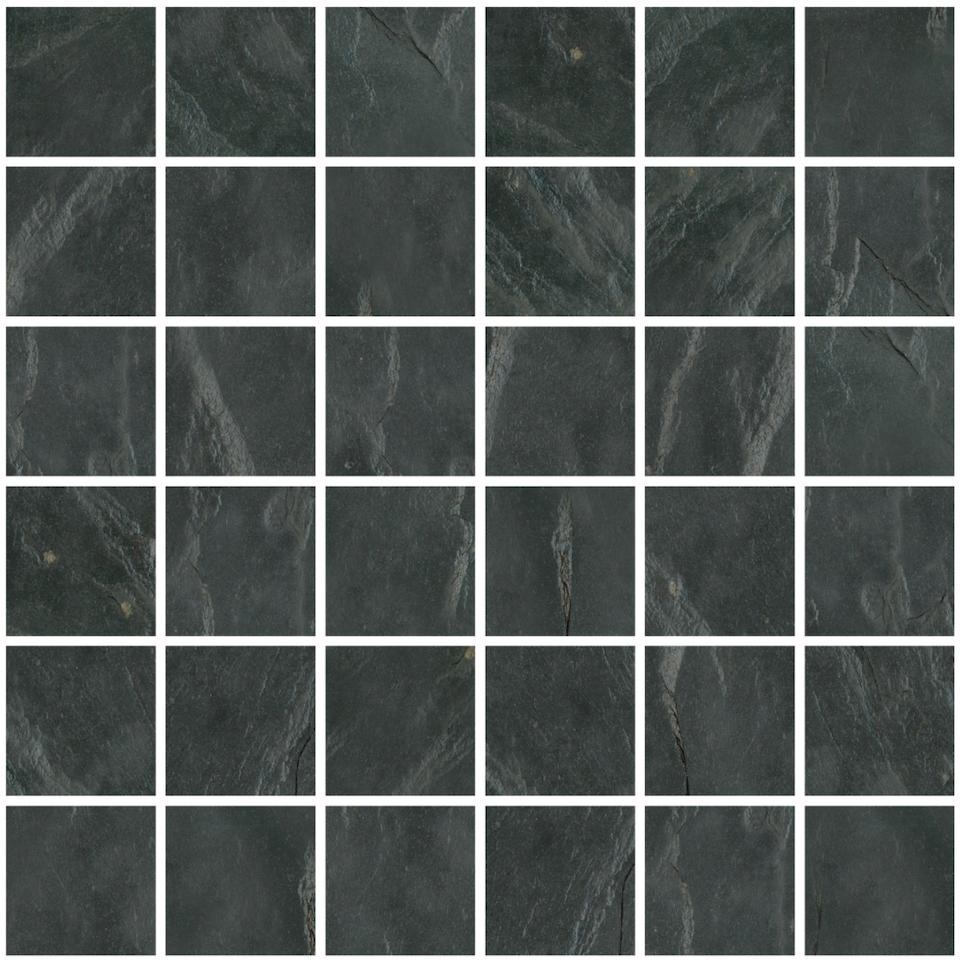 Mont Adoni Nero Black Mosaic 2 x2
