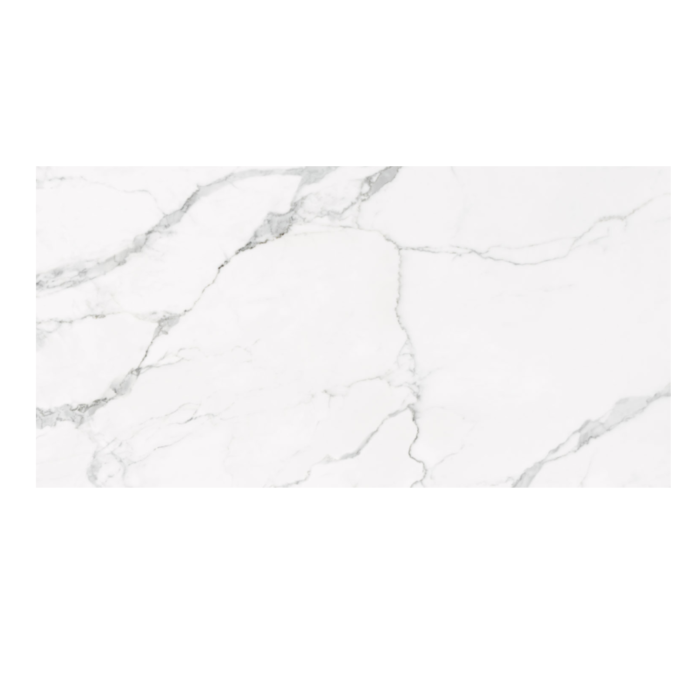 Statuario 24x 48 Glossy porcelain tile
