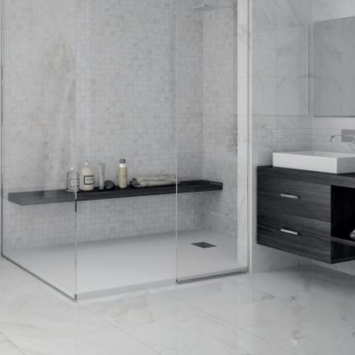 Happy Floors Sublime Mosaic Bath Application