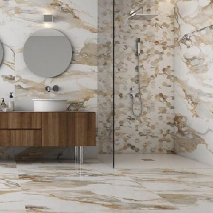 Crash Porcelain Floor and Wall Tile Collection Beige Natural(Matte)