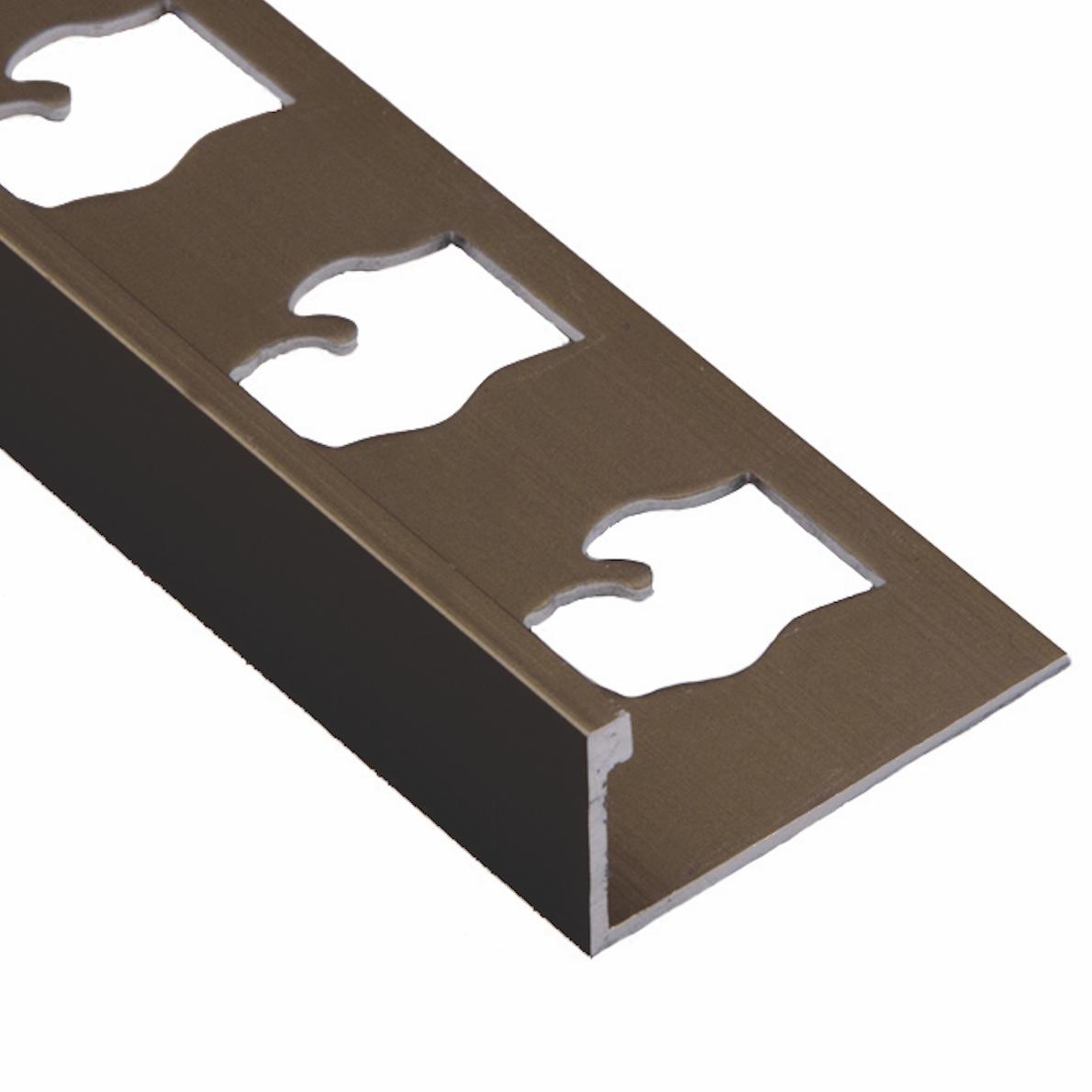 Dark Bronze L Channel Metal Trim Profile