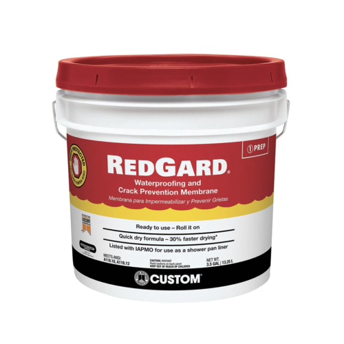 RedGard® Crack Prevention and Waterproofing Membrane